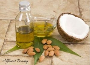 Almonds and coconut oil