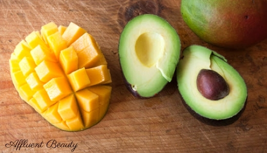 Mango And Avocado Face Pack