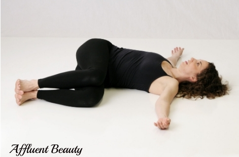 Jathara Parivartanasana (Reclined Spinal Twist)
