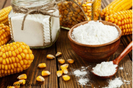 corn and rice flour