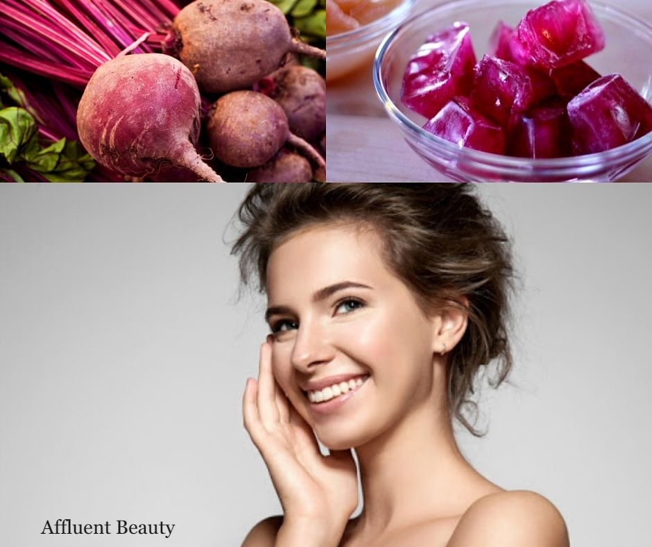 Beetroot Ice Cube Massage | Relief all skin problems And Get Fair Skin In Just 7 Days